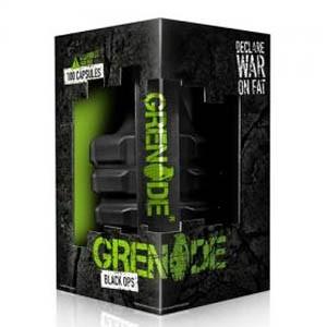 Grenade Black Ops – 100 Capsules