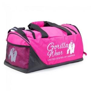 Gorilla Wear Santa Rosa Gym Bag – Pink/Black
