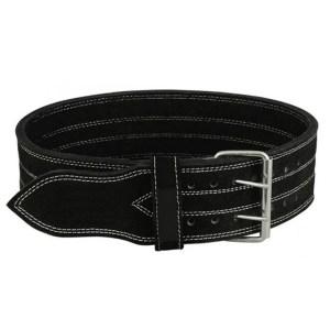 Urban Gym Wear Strong Leather Belt – Black