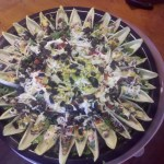 Seven Layer Dip with Endive