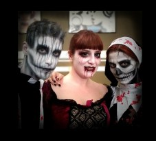 Halloween Airbrush Facepainting Horror
