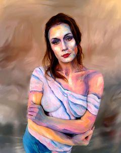 Living Art Bodypainting moderne kunst Bodypainting