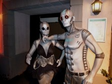 Event bodypainting-robot-slow-motion-show