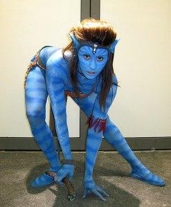 Bodypainting Avatar