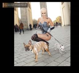 Bodypainting Fotoshooting Micaela Schäfer Halloween