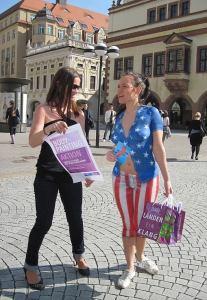 Promotion Bodypaint American