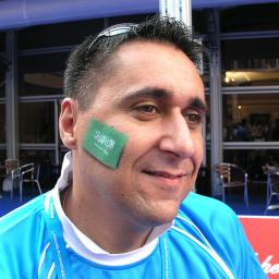 Fanschminken Fussball Flaggen Airbrush Tattoo