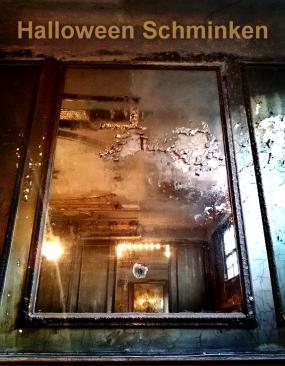 Spiegel Halloween Schminken