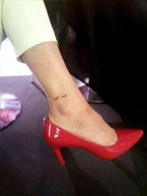 Airbrush Tattoo Fuß GNTM