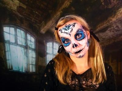 Halloween Party 2018 Facepainting