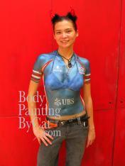 Rugby shirt HK strip painted Pat bpc