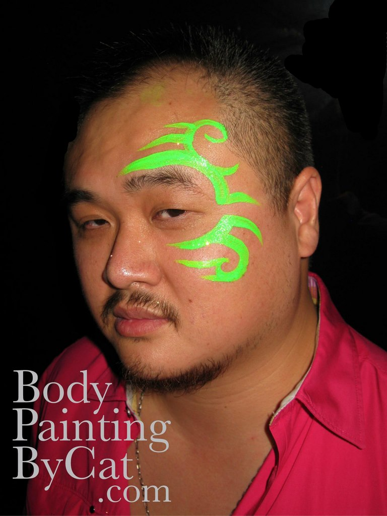 Simple Face Painting Designs For Adults
