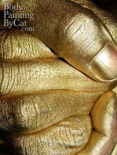 Gold Tennis hands clasp close bpc