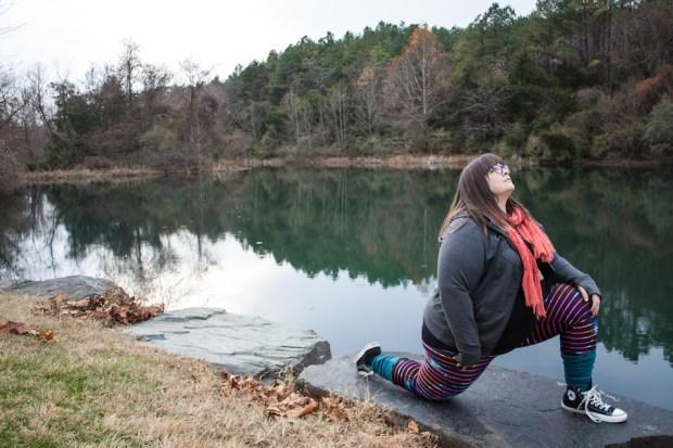 Plus size yoga pants - Lineagewear leggings review