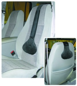 Lumbar support in a Ford Explorer seat
