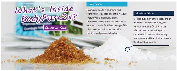 detox patch active ingredients