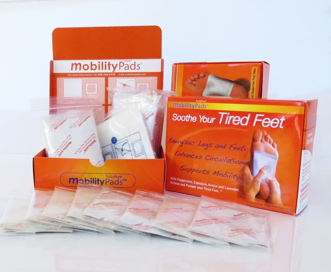mobility foot patches