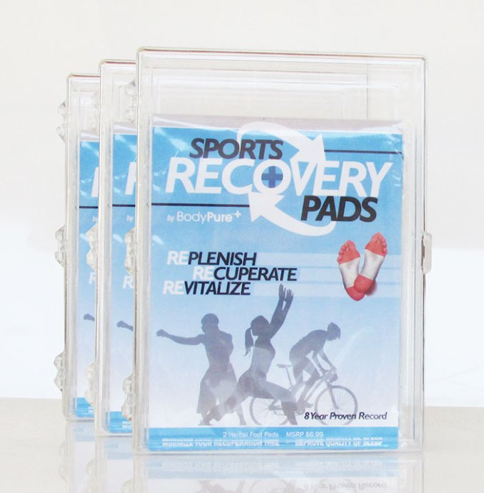 sports recovery foot patches