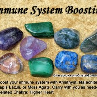 Crystals for Immune System