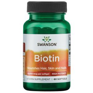 BIOTIN SWANSON 60 SOFGEL