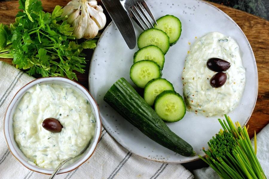 Veganer Zaziki - ganz einfach selber machen!