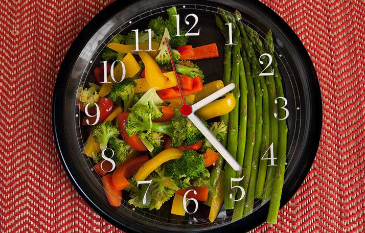 частота питания для похудения