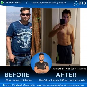 fitness transformation journey with BTS | online fitness platform