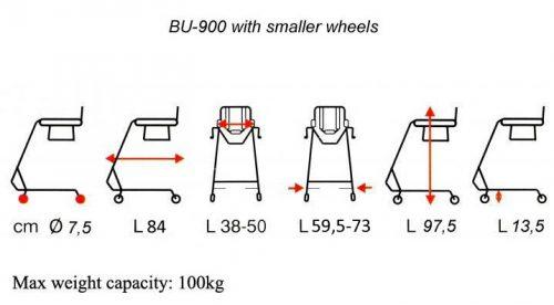 BU-900-dimensions