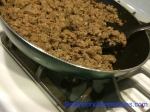 Brown Sausage For Breakfast Quiche