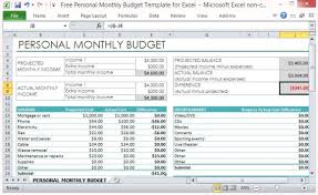 Develop A Monthly Budget
