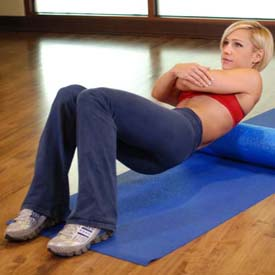 upper back shoulder blade tension exercise stretch