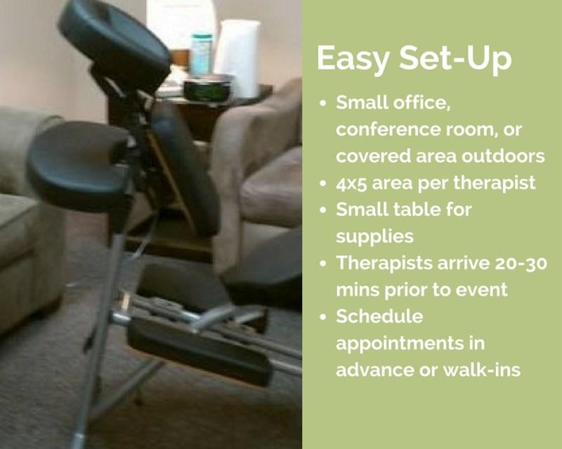 kansas city corporate chair massage workplace
