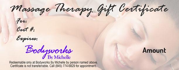 Bodyworks By Michelle   Massage Therapist