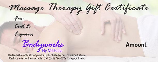 Bodyworks By Michelle | Massage Therapist