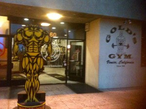 Gold's was where we started training in 1976, back when it was located on 2nd Street in Santa Monica.