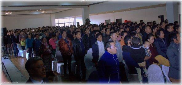 Moment van stilte voor Tibetaanse zelfverbranders