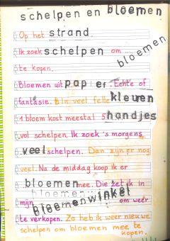 Lina-1ste-schelpen & bloemen-tekst