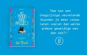 Recensie: Kat French – Het pianoman project