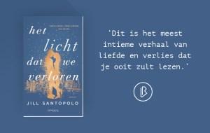 Recensie: Jill Santopolo – Het licht dat we verloren