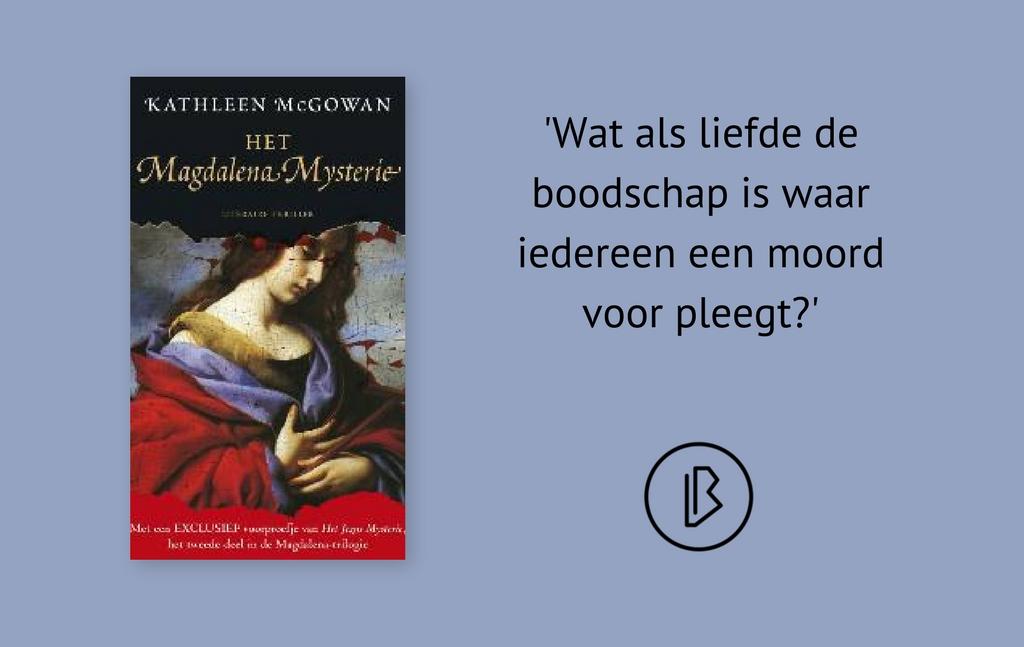 Recensie: Kathleen McGowan – Het Magdalena mysterie