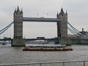 De O zo bekende Tower Bridge