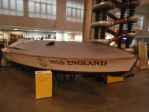 Een boot in het Science Museum