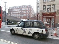 Een mooie taxi!