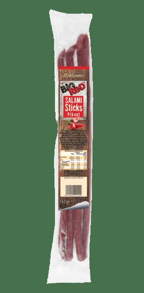 Big Red Salami Sticks pikant