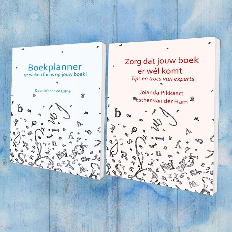 Boekplanner en Zorg dat jouw boek er wél komt covers