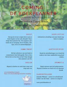 Uitnodiging Boekpresentatie Boekplanner
