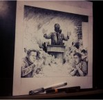 Sketch genter bahaya asap