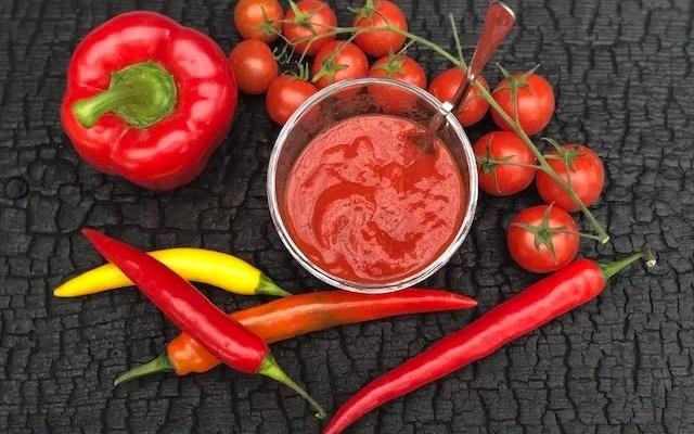 Hot Salsa Sauce – fantastisk som Dip eller i Kebab