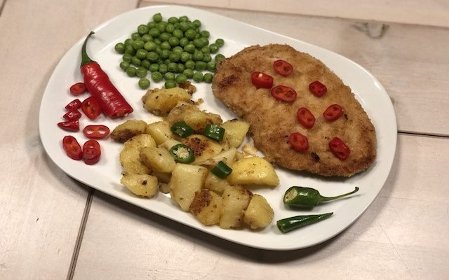 Wienerschnitzel – sådan gør du på grillen