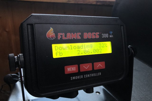 Flame Boss 300 WiFi Downloder Update